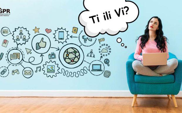 Ti ili Vi (vi) na društvenim mrežama?